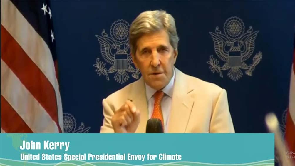 Jonn Kerry, el enviado especial para el Clima de los Estados Unidos.